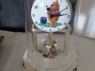 Winnie the Pooh Pendulum Domed Covered Clock