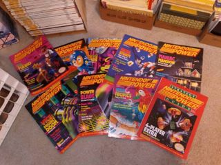 Collectible Nintendo Power Magazines