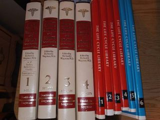 Medical Encyclopedias and life Cycle library Books