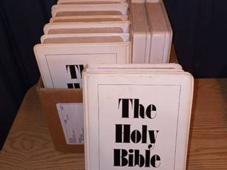 The Holy Bible Audio Tapes