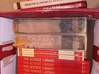 The Science library and Assorted Books