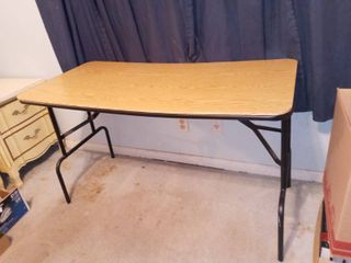 Folding 4 FT Table 28 x 48 x 24 in