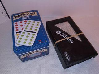 Dominoes Double Twelve Set with Double Nine Set