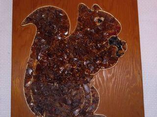Mosaic Art Squirrel 11 5 x 9 in