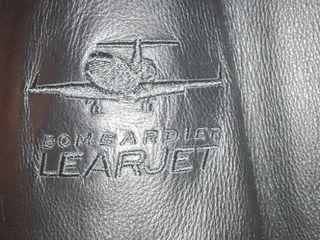 Mens leather Coat  learjet  Size l