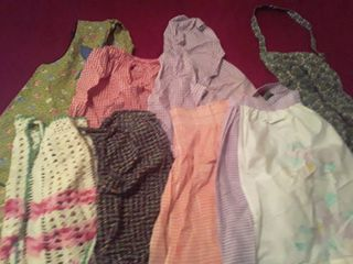 8 Aprons  Some are Vintage