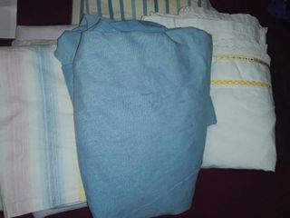 Double or Full Sized Bedding  2 Sheet Sets and some other miscellaneous items