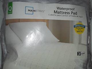 Queen Water Proof Mattress Pad  NEW In Pkg