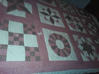 Pioneer Quilt  Has a couple of small needed repairs  Size 98 x 80