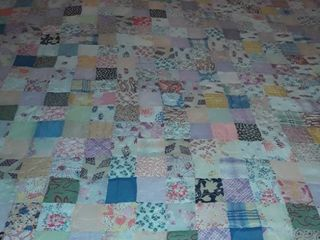 Quilt  Various Colored  Sized 78 x 56