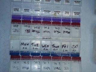 Pill Medication Separators 4 total