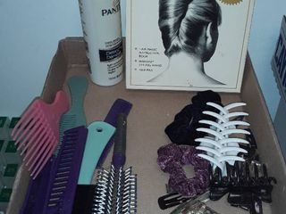 Combs  Brushes  Hair Clips and Ties
