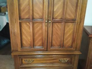 Thomasville Armoire  4 Drawers with a divided shelf 60 x 37 x 18