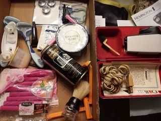 Shaving Items  Disposable Razors  Norelco Electric Shaver and other Miscellaneous Items