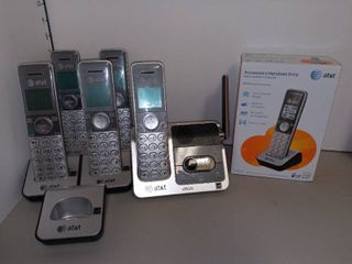 AT T Cordless Home Phones with New In Box Accessory Handset