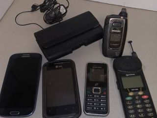 Various Wireless Phones