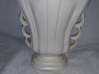 Cream Off White Vase has USA stamped on bottom