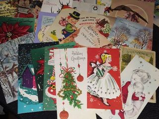 lot of Vintage Greeting Cards
