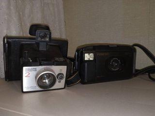 Polaroid Square Shooter 2 with Polaroid Captiva SlR Cameras