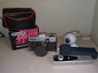 Capital MX2 New in Wrapping 35mm Camera with logitech Webcam and Cool I Cam Pen