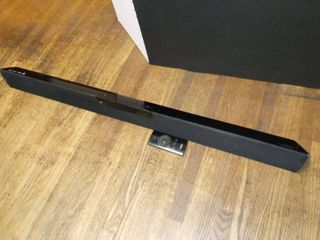 Vizio Sound Bar approximately 40 in long with Remote Needs 24V 2A Power Supply