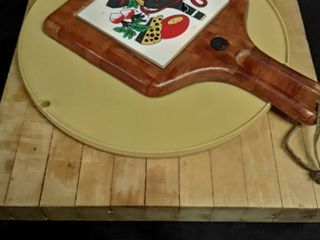 2 Cutting Boards and a lazy Susan