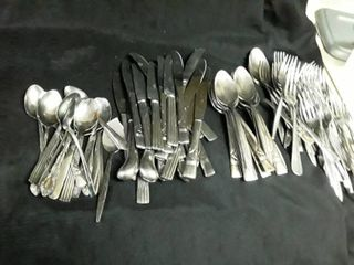 Abundance of Mis matched Silverware