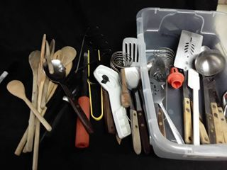 lot of Miscellaneous Kitchen Utensils