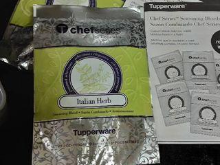 Tupperware Chef Series  Seasoning Blends