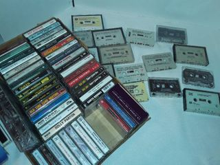 lot of Cassette Tapes  Some are blank Cassette