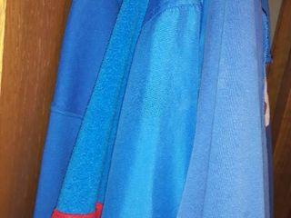 KU Sweat Jackets  Sizes large and Xl