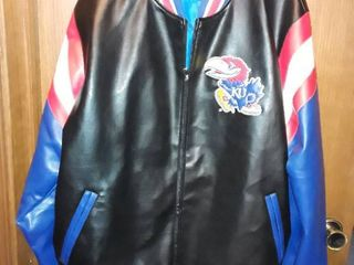 KU Jacket Officially licensed Collegiate Product  Size Xl