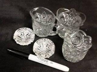 lot of small Miscellaneous Glass  5 pcs