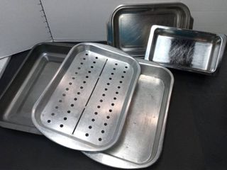 Revere Ware and Farberware with Assorted Baking Pans lot of 5