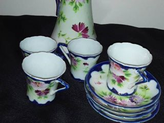 10 pcs  Oriental Tea Set