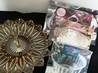 lot of Miscellaneous Serving Dishes