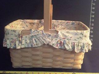 longaberger Baskets 4 pcs  3 have plastic inserts