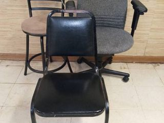 Office Chair with Diner Chair and Barstool
