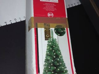 Christmas Tree  3Ft  PVC Porch Trww with lighted Base