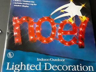 17 1 2 in lighted Decoration  Indoor or outdoor use