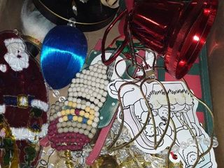 Miscellaneous lot of Christmas Decor