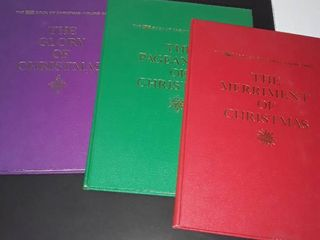 The life Books of Christmas Volume 1  2 and 3