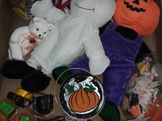 lot with Halloween  Valentine s and Fourth of July Decor
