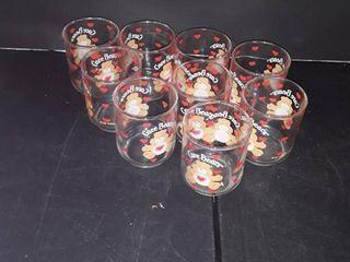9 Care Bear Juice Glasses