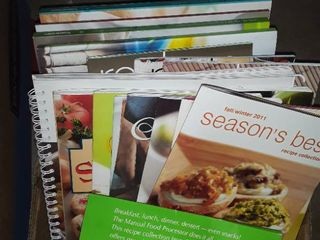 Pampered Chef and Tupperware Cookbooks