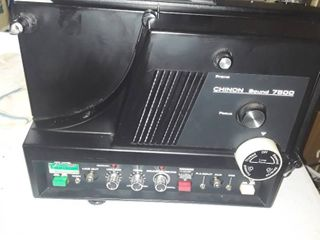 Chinon Sound 7500  Movie Reel