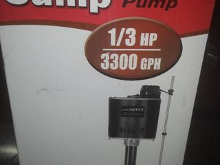 little Giant Sump Pump  It appears to be still in its original plastic  See Pictures