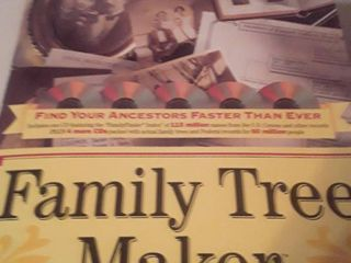 Family Tree Maker  Been opened not for sure if all there