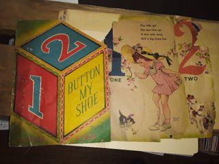 Vintage Nursery Rhyme Books  1 is very brittle