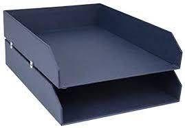 Hakan Desk Organizer Set Dark Blue